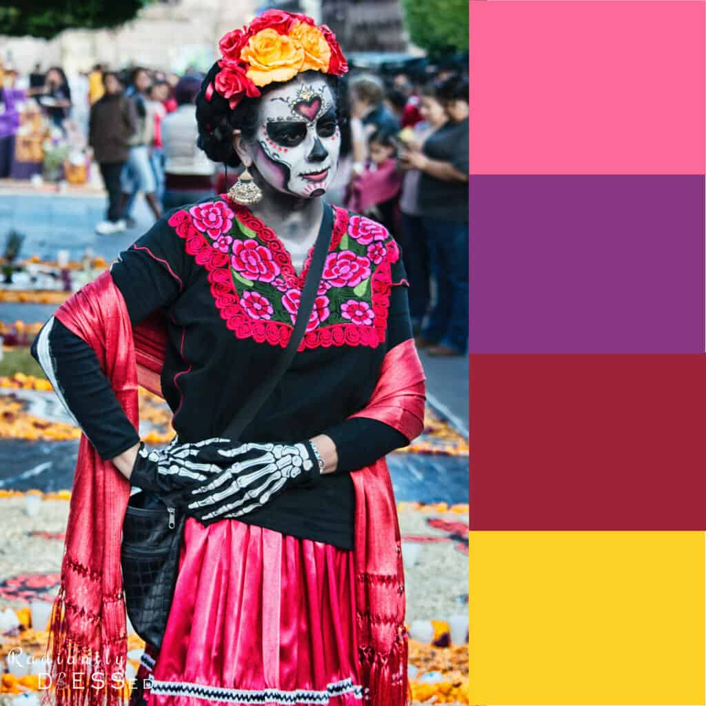Day of the Dead Colors