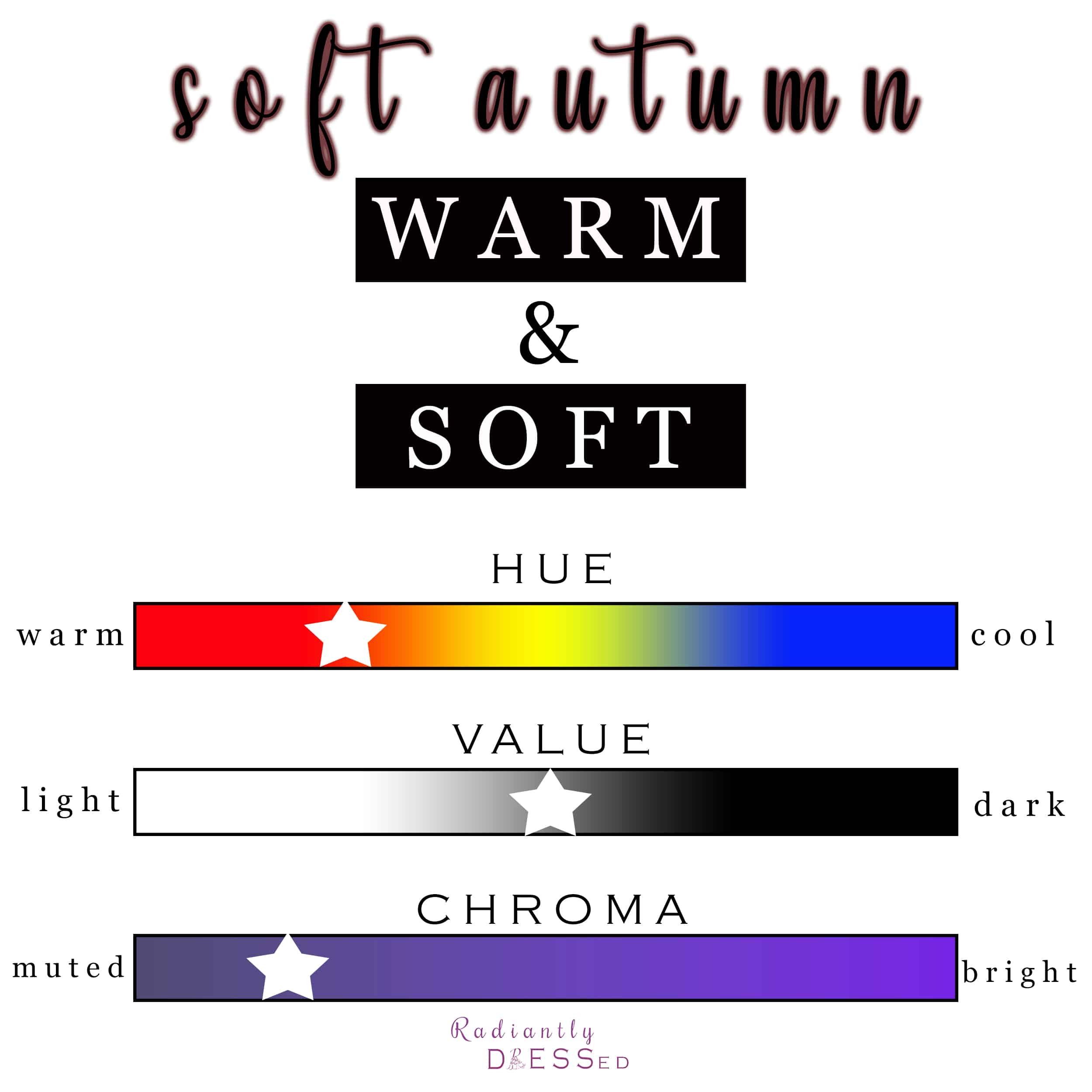 Soft Autumn is warm and soft.