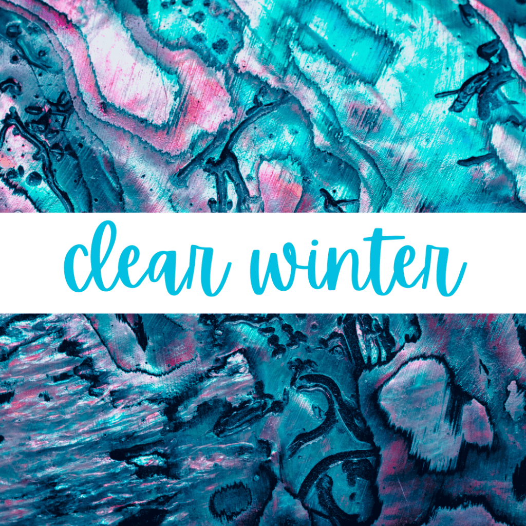 Clear Winter - Explore the 12 Seasons