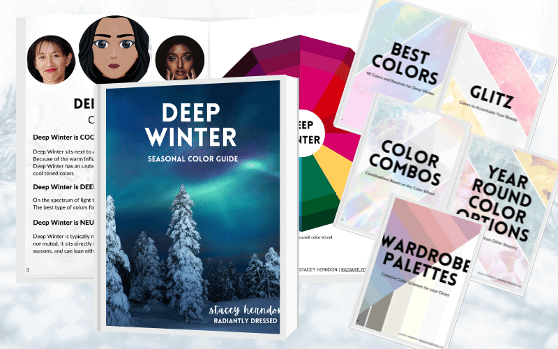 Get Your Deep Winter Color Guide!
