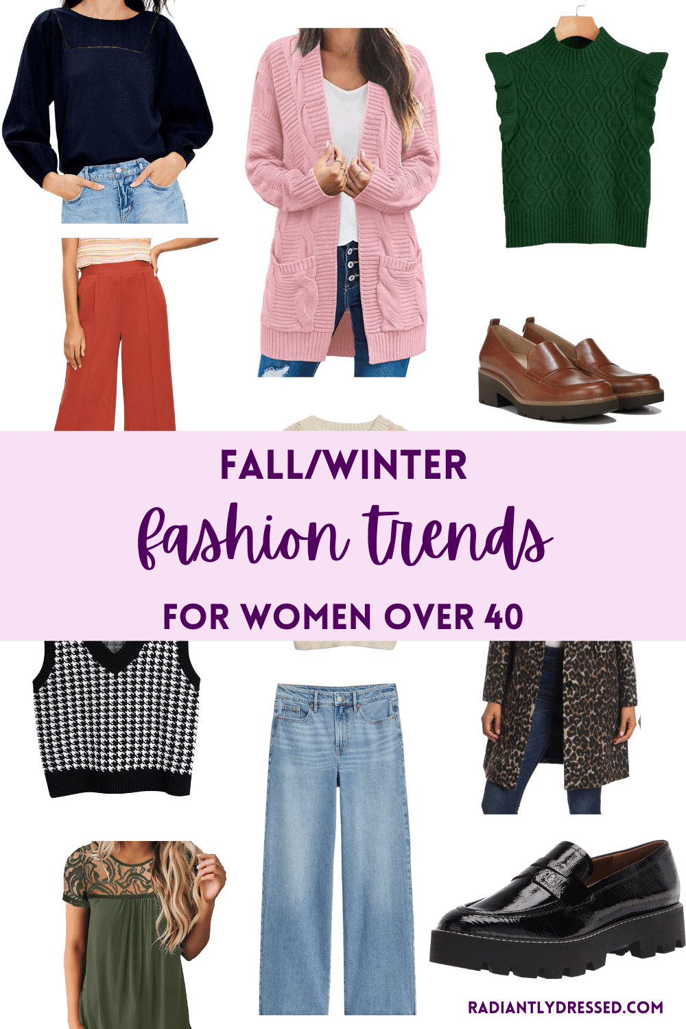 fall fashion trends for women over 40